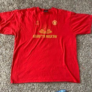 Champions League sie XL Road to Moscow UEFA Red T